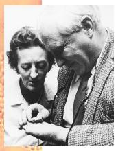 Mary and Louis Leakey.