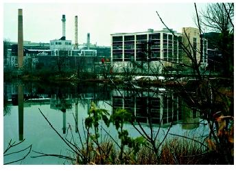 This General Electric plant in Pittsfield, Massachusetts, lay dormant from the 1970s, when the use of PCBs was banned, until the mid-1990s, when GE and civic leaders agreed to clean the site on the Housatonic River on which it sits.